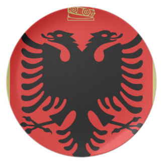 Coat of Arms of Albania Plate