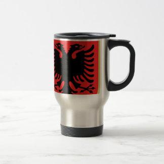 Coat of Arms of Albania Travel Mug