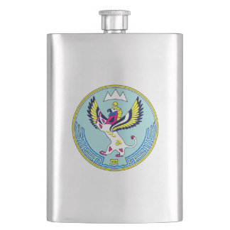 Coat of arms of Altai Hip Flask