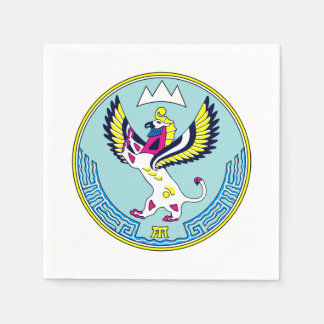 Coat of arms of Altai Paper Napkin