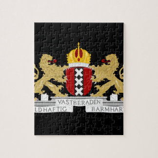 Coat of arms of Amsterdam Jigsaw Puzzle