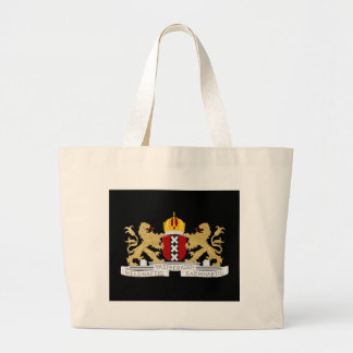 Coat of arms of Amsterdam Large Tote Bag