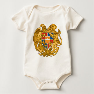 Coat of arms of Armenia - Armenian Emblem Baby Bodysuit