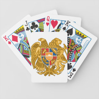 Coat of arms of Armenia - Armenian Emblem Bicycle Playing Cards