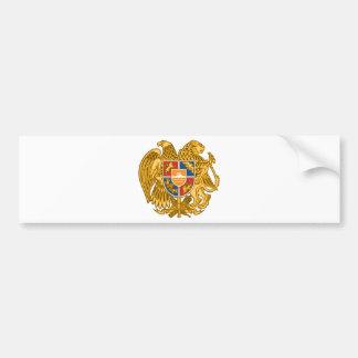 Coat of arms of Armenia - Armenian Emblem Bumper Sticker