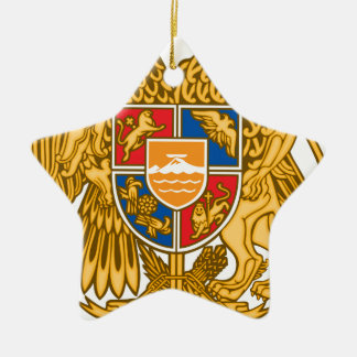 Coat of arms of Armenia - Armenian Emblem Ceramic Ornament