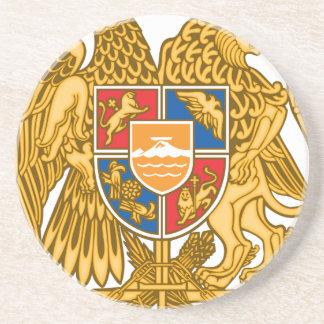 Coat of arms of Armenia - Armenian Emblem Coaster