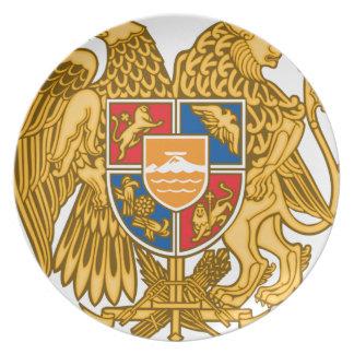Coat of arms of Armenia - Armenian Emblem Dinner Plate