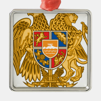 Coat of arms of Armenia - Armenian Emblem Metal Ornament