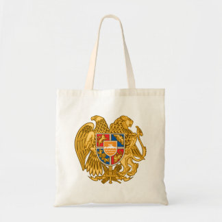 Coat of arms of Armenia - Armenian Emblem Tote Bag