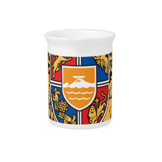 Coat_of_arms_of_Armenia Beverage Pitcher