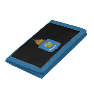Coat of arms of Astrakhan oblast Tri-fold Wallet