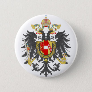 Coat of Arms of Austrian Empire 2 Inch Round Button