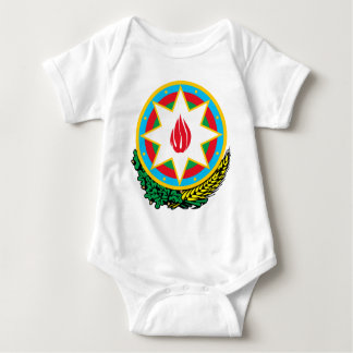 Coat of Arms of Azerbaijan - Азәрбајҹан герби Baby Bodysuit