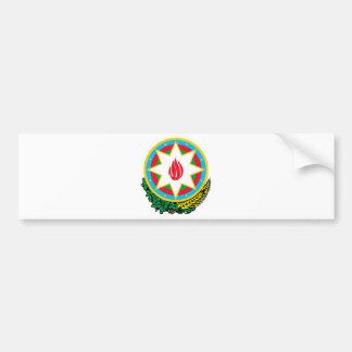 Coat of Arms of Azerbaijan - Азәрбајҹан герби Bumper Sticker