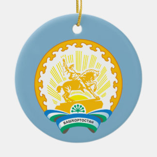 Coat of arms of Bashkortostan Ceramic Ornament