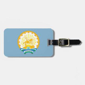 Coat of arms of Bashkortostan Luggage Tag