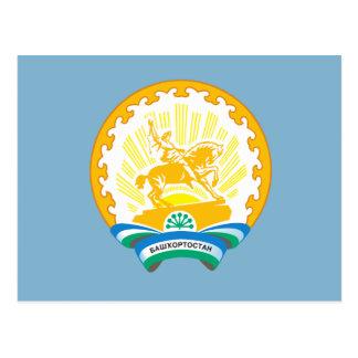 Coat of arms of Bashkortostan Postcard