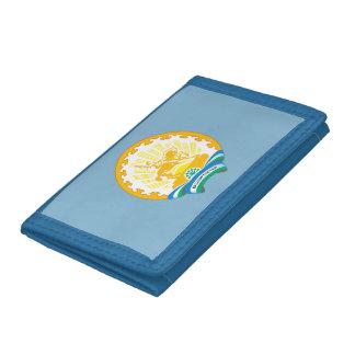 Coat of arms of Bashkortostan Trifold Wallet