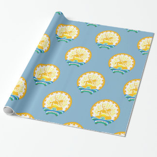 Coat of arms of Bashkortostan Wrapping Paper