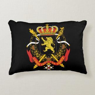 Coat of arms of Belgium Accent Pillow