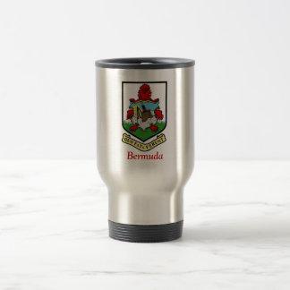 Coat of Arms of Bermuda Travel Mug