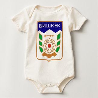 Coat_of_arms_of_Bishkek_1991-1994 Baby Bodysuit