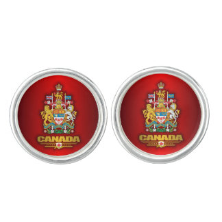 Coat of Arms of Canada Cufflinks