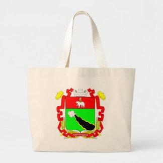 Coat_of_Arms_of_Chernushka_(Perm_krai)_(ver._1).sv Large Tote Bag