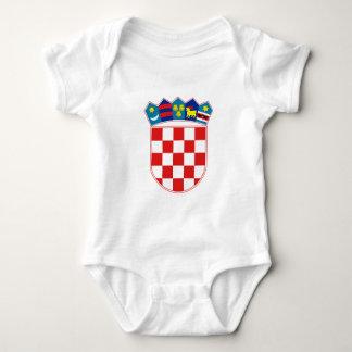 Coat of Arms of Croatia Baby Bodysuit