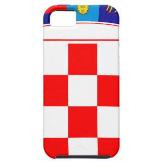 Coat of arms of Croatia, Croatian Emblem, Hrvatska Case For The iPhone 5