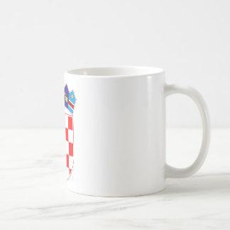 Coat of arms of Croatia, Croatian Emblem, Hrvatska Coffee Mug