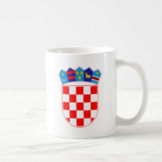 Coat of arms of Croatia, Croatian Emblem, Hrvatska Coffee Mug