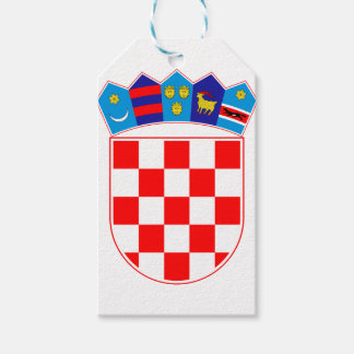 Coat of arms of Croatia, Croatian Emblem, Hrvatska Gift Tags