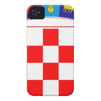 Coat of arms of Croatia, Croatian Emblem, Hrvatska iPhone 4 Case-Mate Cases