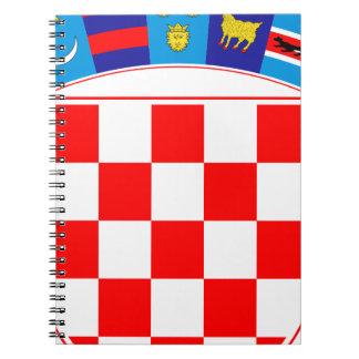 Coat of arms of Croatia, Croatian Emblem, Hrvatska Notebook