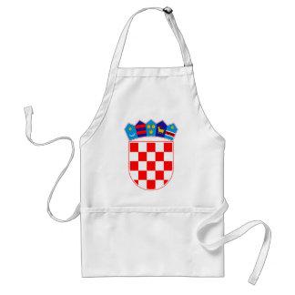 Coat of arms of Croatia, Croatian Emblem, Hrvatska Standard Apron