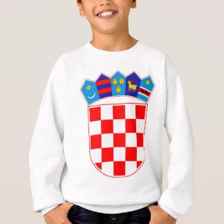 Coat of arms of Croatia, Croatian Emblem, Hrvatska Sweatshirt