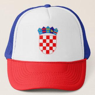 Coat of arms of Croatia, Croatian Emblem, Hrvatska Trucker Hat