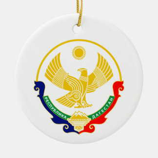 Coat of arms of Dagestan Ceramic Ornament