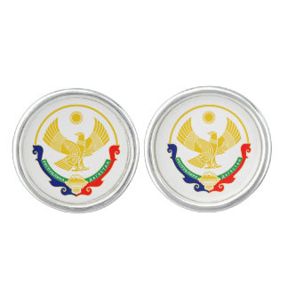 Coat of arms of Dagestan Cuff Links
