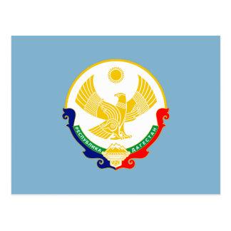 Coat of arms of Dagestan Postcard