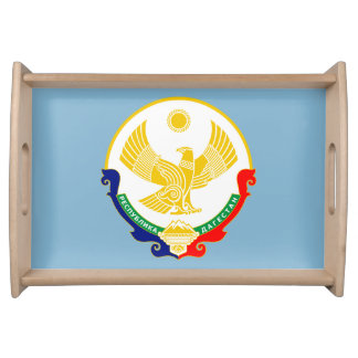Coat of arms of Dagestan Serving Tray