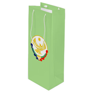 Coat of arms of Dagestan Wine Gift Bag