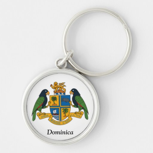 Coat of arms of Dominica Keychains