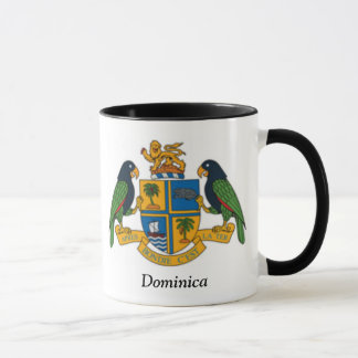 Coat of arms of Dominica Mug
