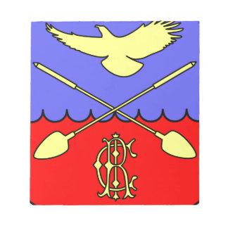 Coat_of_arms_of_Druzhnogorskoye_urban_settlement,_ Notepad
