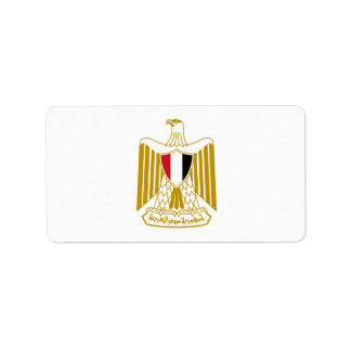 Coat of Arms of Egypt,شعار مصر,علم مصر, Label