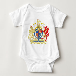 Coat of Arms of England Used By Queen Elizabeth I Baby Bodysuit