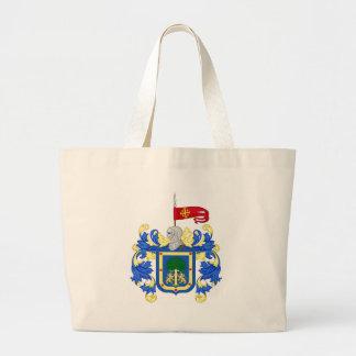 Coat_of_Arms_of_Guadalajara_(Mexico) Large Tote Bag